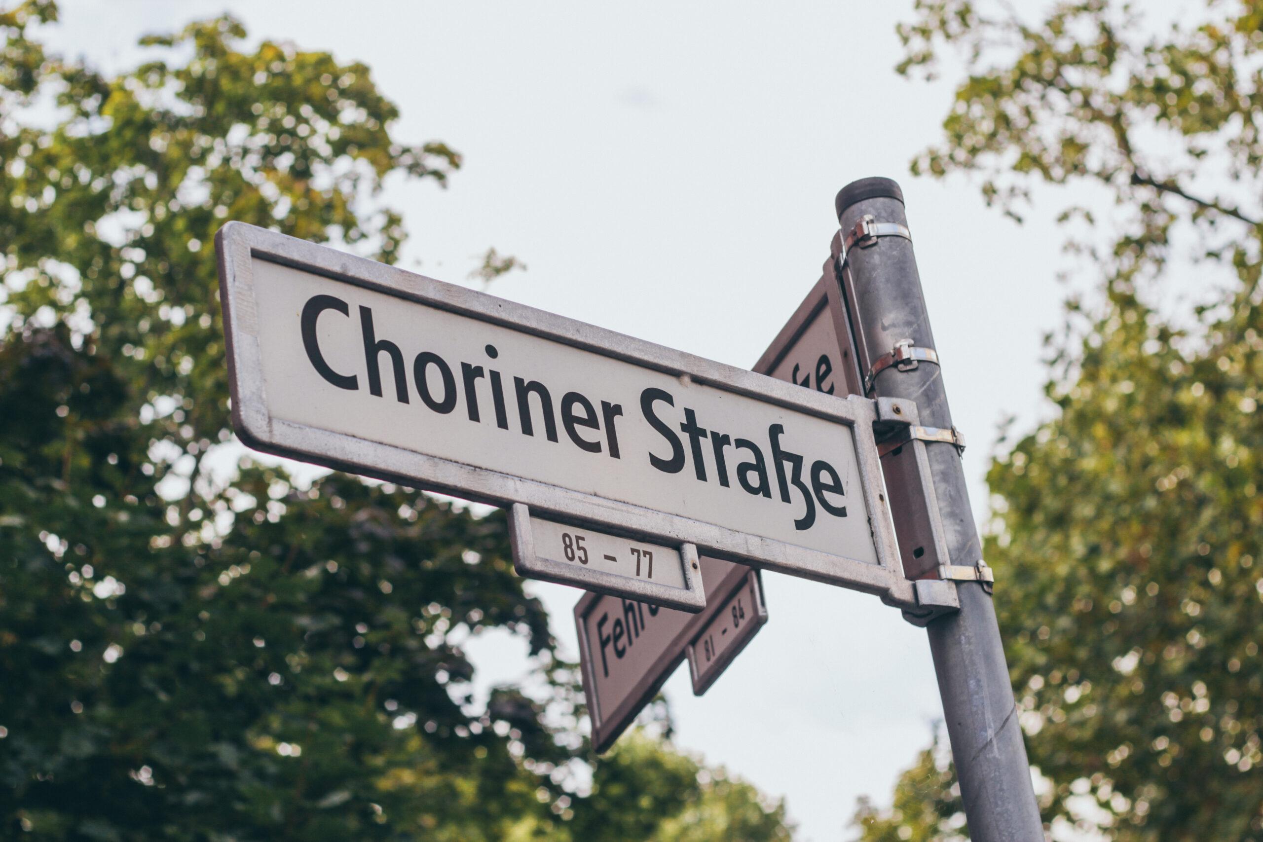 talque-choriner-straße
