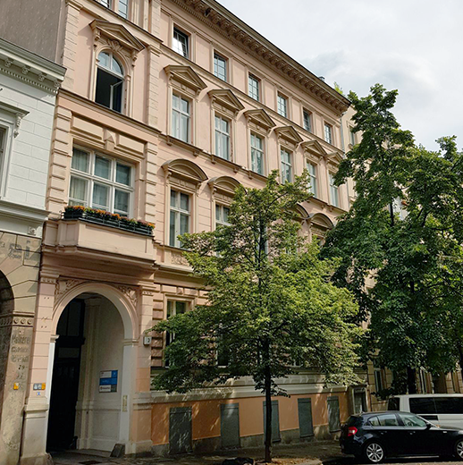 Das talque Office in der Choriner Straße